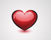 glossy-heart-vector-icon-free-28821